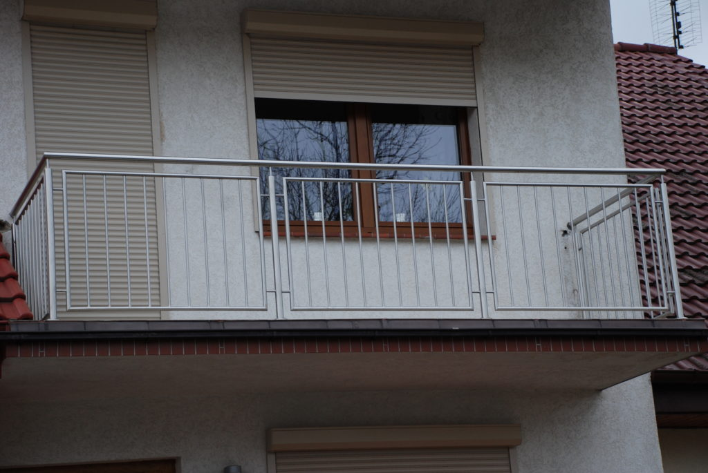 Balustrada całość stal kwasoodporna