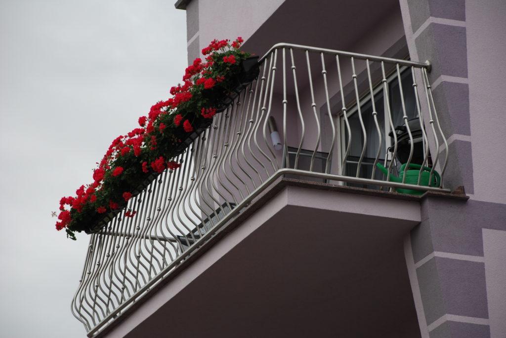 Balustrada balkonowa - kwasoodporna