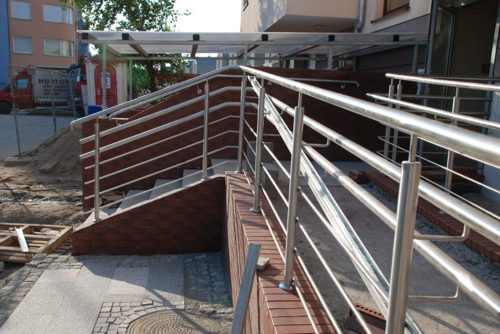 Balustrada stal kwasoodporna